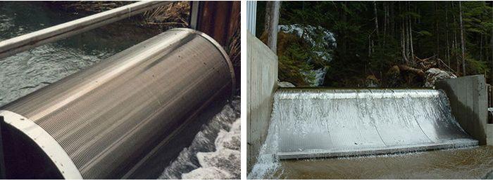 filtration des eaux usées, filtres des eaux usées, grilles en fils métalliques de section triangulaire pour le traitement des eaux, traitement des eaux industrielles
