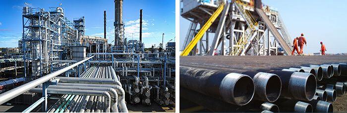 grilles en fils métalliques de section triangulaires pour le pétrole, grilles en fils métalliques de section triangulaires pour le gaz, grilles en acier inoxydable pour le pétrole et le gaz